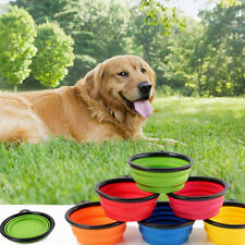 Collapsible Pet Travel Bowl Foldable Dog Compact Feeding Dish Cat Silicone Bowl