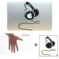 """Crystal Clear Hard Case Vinyl Sticker Decal Cover MacBook Pro 13/15"""" Air 11/13"""""""