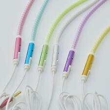Luminous Glowing Headphone Earphone Headset Zipper In-Ear Earbud Headphone BH