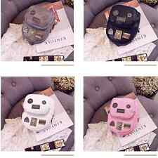 NEW Vintage Women's Leather Mini Small Backpack Travel Casual Bag 4 Colors BH