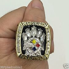 2005 Pittsburgh Steelers Super Bowl XL Replica WARD Ring SIZE 11-12 USA SELLER