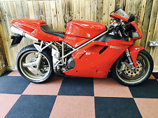 Ducati 916 1998, ONLY 3043 MILES, ONE OWNER, WOW!!!