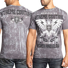 Xtreme Couture Kill Zone Honor Glory Eagle UFC MMA Mens T-Shirt Grey NEW S-3XL