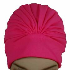Polyester Aquapro Lined Pleated Women's Swim Bathing Turban
