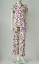New Womens Nightwear Sleepwear Pyjama Set Memsahib Oriental