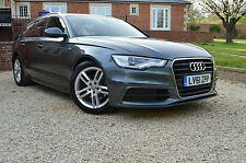 2012 61 AUDI A6 AVANT 2.0 TDI 175 BHP S LINE AUTO ONLY 26000 MILES WITH FULL SH