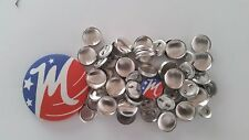 10/25/50/100 Cover Buttons - bulk wholesale - Made in USA - Self covered fabric