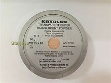 Kryolan Foundation Translucent Powder 60g Pack - Colors Transparant Make Up