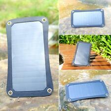 6.5W Outdoor Solar Energy Stand Panel Mobile Phone Power Supply Charger Pad U8K9
