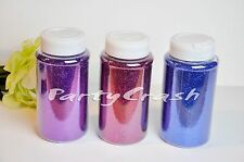 Craft Glitter 16oz 1LB Super FINE Glitter Powder Royal Blue Purple Fuchsia