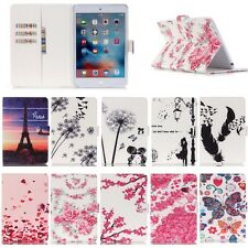 Stand Wallet Floral Flip PU Leather Case Cover For Apple iPad 2/3/4 5 6 Tablet
