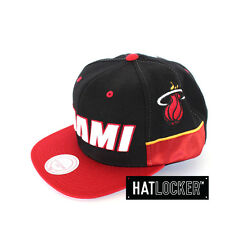 Mitchell & Ness - Miami Heat Team Short Snapback