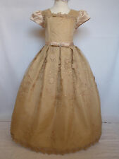New Girl Pageant Wedding Easter Formal Party Recital Dress Taupe Size: 6 8 10