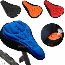 Silicone Seat Saddle 3D Pad Soft Gel Cycling Bicycle Cover Cushion Bike Saddle