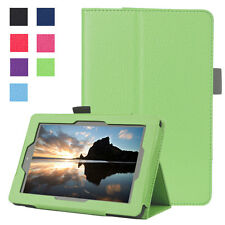 Folio PU Leather Flip Stand Case Smart Cover Fr Amazon Kindle Fire 7 2015 Tablet