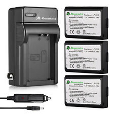 LPE10 LP-E10 Battery & Charger For Canon EOS Rebel T3 T5 1100D 1200D Kiss X50
