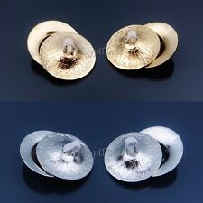 """Professional Hight Quality 4PCS (2 Pairs ) BELLY DANCE  2"""" FINGER CYMBALS ZILLS"""