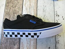 VANS Boys check trainers sizes infant 4 and kids 1 (3182169/649 loc R32)