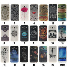 Back Case Soft Cover Gel Silicone Patterned TPU Skin For Various Samsung Phones