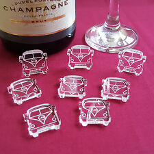 Personalised Detailed Campervan Wedding Table Decorations - Scatter Favours