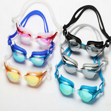 Non-Fogging Anti UV Swim Swimming Goggle Glasses Adjustable Eye Protect Adult