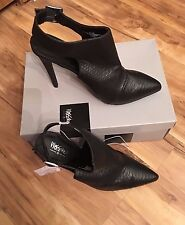 Mossimo, Black High heel,Danica,Stiletto,Ankle Bootie,Size 9.5B or 10B,Buckle