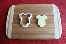 Baby Onesie Cookie Cutter Newborn Romper Shirt Shower Cake Topper Fondant