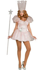 LICENSED GLINDA THE GOOD WITCH WIZARD OF OZ ADULT WOMENS FANCY DRESS COSTUME