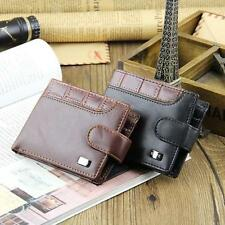 Fashion Boys Mens Faux Leather Bifold Wallet Credit/ID Card Holder Coin Purse