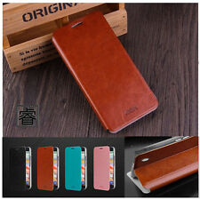Mofi Rui Retro Flip PU Leather Wallet Stand Case for iPhone 6s Samsung S7 HTC M9