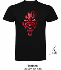 T-SHIRT STAR WARS DARTH MAUL DARK VADER FUN FUNNY T-SHIRT SILPw003