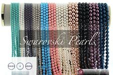 Swarovski Crystal Round Pearls 5810 - 42 Colors (3mm - 8mm) Round Pearl Beads