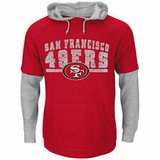 Majestic San Francisco 49ers RedCrucial Call III 2-For-1 Hoodie and T-shirt