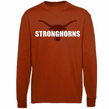 Texas Longhorns Stronghorns Long Sleeve T-Shirt - Burnt Orange