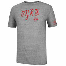 adidas New York Red Bulls Gray Sweeper Tri-Blend T-Shirt