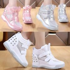 New Womens Shoes Spike Stud Fashion Wedge Sneakers Sport Sandals Tennis Shoes