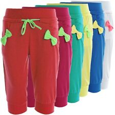 Children's Girl's Bermuda Shorts Trousers Summer Capri Pump Pants Jeans 20383