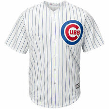 Majestic Chicago Cubs Youth White Official Cool Base Jersey