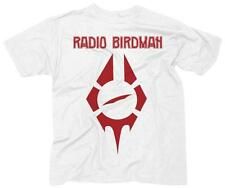 Radio Birdman- Logo T-Shirt White New Shirt Tee