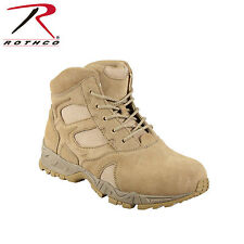 """6"""" Desert Tan Deployment Boot Forced Entry - 5368 Rothco"""