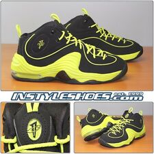 Nike Air Max Penny II 2 LE Black Cyber Volt 535600-003 8.5 9 9.5 11.5 DS
