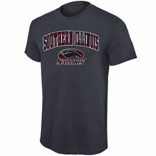 Southern Illinois Salukis Dark Gray Mid Size Arch Over Logo T-Shirt