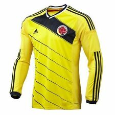 COLOMBIA ADIDAS ORIGINAL Climacool Soccer Jersey Long Sleeve - All size (G85388)