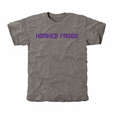 TCU Horned Frogs Gray Classic Wordmark Tri-Blend T-Shirt