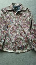 Paisley Mens Shirt Large Colourful Casual Summer