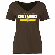 Valparaiso Crusaders Women's Brown Team Strong Slim Fit T-Shirt