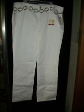 """FADED GLORY WOMENS JEANS SLIM BOOTCUT PLUS SIZE 22W AVG. L32"""" NEW WHITE"""