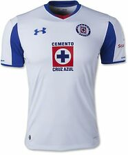 NEW Men UNDER ARMOUR Deportivo Cruz Azul Home Soccer Football Jersey White