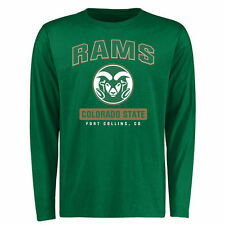 Colorado State Rams Green Campus Icon Long Sleeve T-Shirt