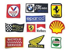 Embroidered Patch Embroidery sew on Logo Mark F1 Racing Motor Badage series 02